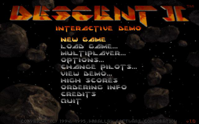 צילום מסך Descent 2